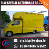 China Factory Supply Light 4X2 Dongfeng Gasolina Mobile Shop Van