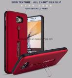Крышка сотового телефона конструкции смеси TPU+PC для главного Samsung J7