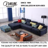 Moderner Entwurfs-Schnittsofa mit Flanell-Qualitäts-Gewebe für Hotel-Bett-Raum Furniture-Fb1111