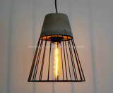 포도 수확 고대 산업 시멘트 감금소 펀던트 램프 구체적인 전등 설비