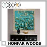 Marco de madera de la impresión multi del arte para la decoración de la pared