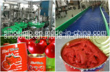 A maquinaria de alimento para a pasta de tomate pode dentro/saco de plástico do malote, Brix 22-38%