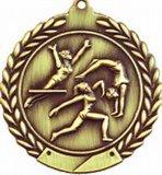 Medaglioni del rame dell'argento dell'oro dell'annata della concorrenza del randello di ginnastica di Tamworth