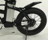 뚱뚱한 타이어 전기 자전거 리튬 건전지 자전거 세륨 증명서를 접히는 20inch