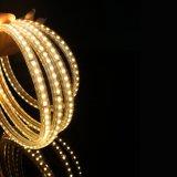 luz de la Navidad flexible de la tira de 120LEDs 230V 3528 LED
