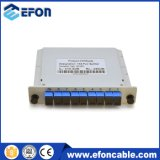 Plug in PLC Splitter 1 * 8 Sc / APC Adapter