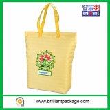 Non Woven Fashion Travel Cooler Bag, Tecidos Shopping Ice Bag for Packing