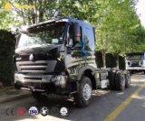 Caminhão do trator de Sinotruk HOWO A7 6X4, caminhões de reboque do trator
