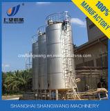 100 tonnes à l'extérieur traient le réservoir de stockage/silo de lait