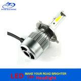 Linterna auto H4 de la MAZORCA LED del kit de la conversión de la linterna del coche de la viruta 7200lm Hb2 9003 LED de la MAZORCA