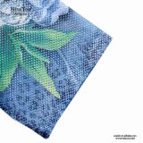 Платье лета втулки голубой сетки женщин Miss Вы Ailinna 305353 флористическое короткое