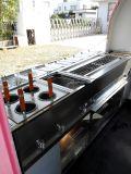 La máquina expendedora del coche de los alimentos de preparación rápida con Ce aprueba