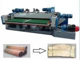 CNC контролирует шпиндель меньше машина Lathe шелушения деревянного Veneer роторная