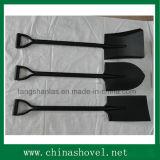 Spaten-Puder beschichteter Stahlgriff-Schaufel-Spaten