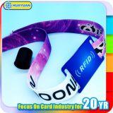 Wristbands tecidos RFID do festival de música NTAG216 do evento