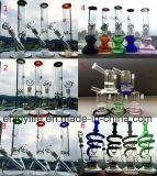 De mengeling ontwerpt 10 van Handcrafted van het Wapen van de Boom van de Basis van de Beker van de Spiraalvormige van de Draaikolk van de Rol van de Recycleermachine Duim Pijp van het Glas