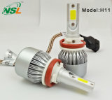 O farol o mais brilhante do diodo emissor de luz da ESPIGA do diodo emissor de luz H1-9006 da série C6 para carros