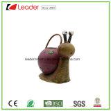 Handgemalte Metalleulen-Figürchen-Bewässerungs-Dose für Innen- und im Freiendekoration