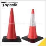 Cone do tráfego 75 Cm da segurança de estrada do PE (S-1217H)