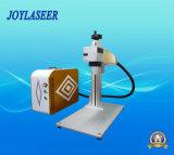 Машина маркировки лазера волокна привлекательной конструкции портативная для пластмассы