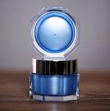 化粧品の包装のための新しい到着の八角形の正方形のアクリルのクリーム色の瓶(PPC-ACJ-076)