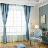Heat-Insulatingポリエステル固体停電の窓カーテン(21W0017)