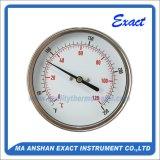 バイメタルの温度計温度計の正確に測温度のゲージ