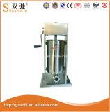 Máquina manual comercial 7L del llenador de la salchicha de Sc-Sf7l para la venta