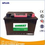 De natte Batterij van de Auto van het Onderhoud van het Lood van de Last Zure Vrije 57540mf 12V75ah