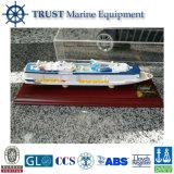 El modelo del barco de cruceros para Quantum de los mares