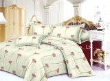 優雅な寝具一定のクイーンサイズ4PC Microfiberの極度の柔らかい生命