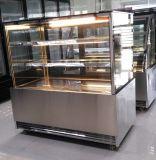 Quadratischer Glastür-Kuchen-Bildschirmanzeige-Schaukasten