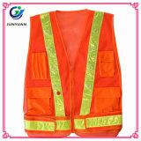 L'alta sicurezza stradale visibile di obbligazione copre la maglia riflettente