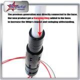 4 piedi 5 piedi di RGB LED della bandierina di indicatore luminoso dell'antenna per il Buggy di ATV UTV tramite telecomando con l'indicatore luminoso flessibile del bastone