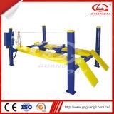 O borne profissional da alta qualidade quatro de Guangli Maufacturer Scissor o elevador do carro para o alinhamento de quatro rodas (GL-4.0-4E1)