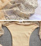 Женское бельё романтичных милых женщин сексуальное видит до конца прозрачное нижнее белье с трусами t