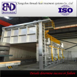 Forno di ricottura del focolare del carrello ferroviario per calore - trattamento - fornace del carrello