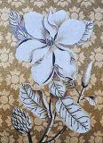 La décoration décrit les Chinois fabriqués à la main d'art de mosaïque