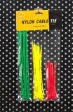 Reichweite-Nylonkabelbinder-Reißverschluss-Gleichheit Kabel-Organisator UL-RoHS