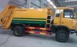 155 kilovatios 6 ruedan 12 toneladas que la basura cerco el carro carro del compresor de la basura de 12 T para la exportación