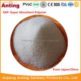 Polímeros absorventes super (SAP) para o tecido
