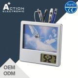 Despertador da tabela de Digitas do frame da foto com o Penholder para a promoção