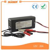 Заряжатель батареи автомобиля Suoer 12V 20A всеобщий портативный (SON-1220)