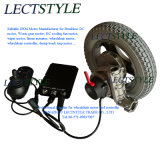 Motor van de Rolstoel van gelijkstroom Brushless Elektrische met de Bedieningshendel van het Controlemechanisme en van de Rolstoel
