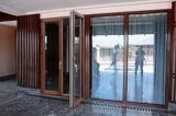 Porte en aluminium 5 de tissu pour rideaux d'oscillation d'enduit de poudre de ménage millimètre + 9 a + 5 millimètres