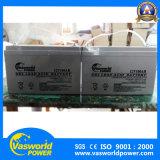 Ce&MSDS reconnaissent 5 ans de batterie solaire réglée exempte d'entretien 12V 200ah de batterie d'acide de plomb