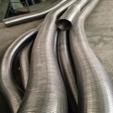 Tubo de escape flexible de acero inoxidable
