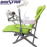 Подгонянный стул верхнего надувательства складной зубоврачебный