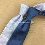 Jacquard chino de la manera de los hombres tejidos 100 corbata hecha a mano de seda