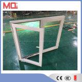 분말 입히는 강화 유리 알루미늄 여닫이 창 Windows